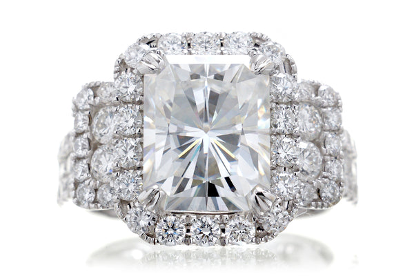 The Sydney Radiant Moissanite (10x8)