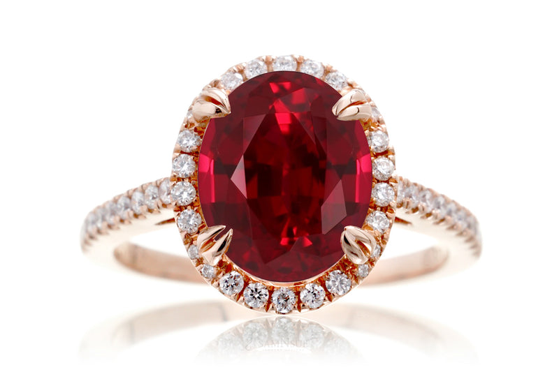The Signature Oval Chatham Ruby
