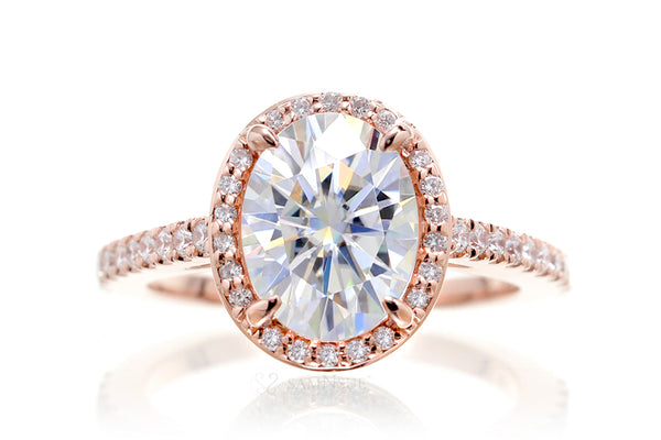 The Steffy Oval Moissanite