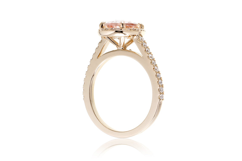 The Steffy Oval Morganite