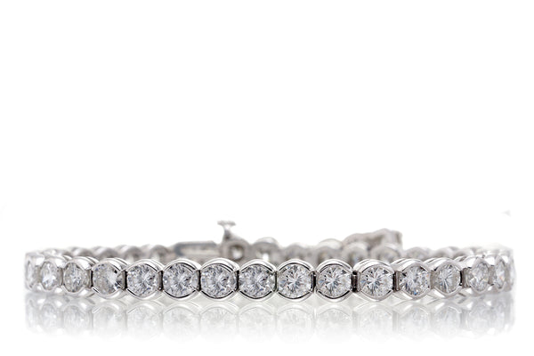 The Embraced Diamond Tennis Bracelet (10.12 ct. tw.)