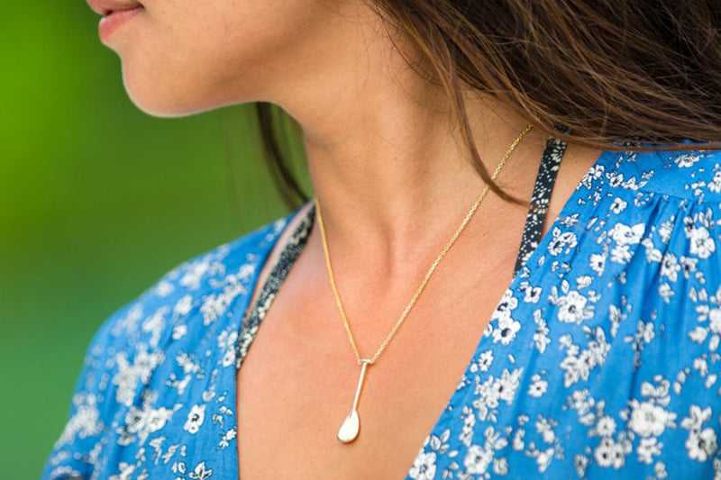 The Outrigger Paddle Necklace (Large)