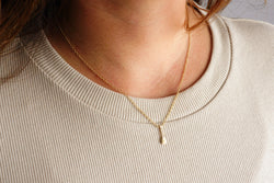 The Outrigger Paddle Necklace (Tiny)