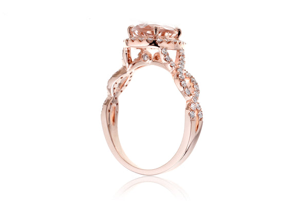 The Rosy Pear Morganite