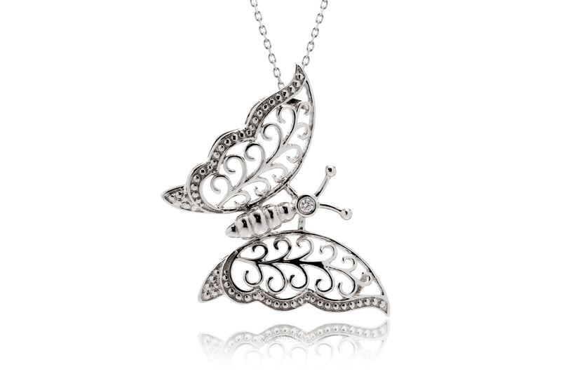 The Monarch Butterfly Pendant