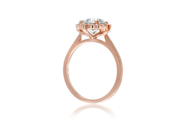 The Haley Round Morganite