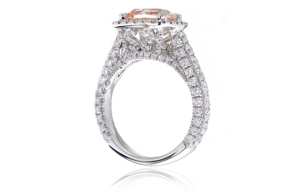The Tamara Cushion Morganite