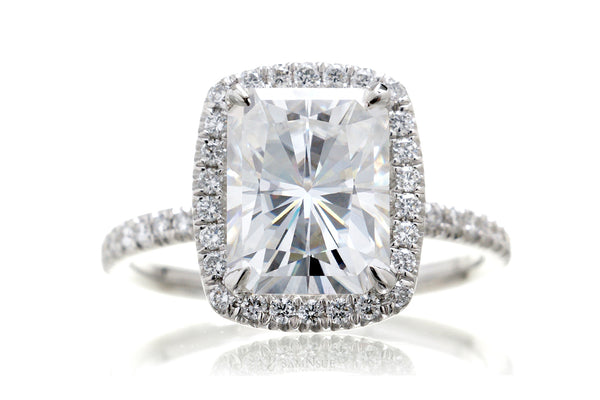 The Caitlin Radiant Moissanite