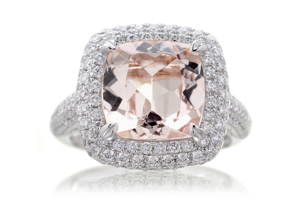 The Pamela Cushion Morganite