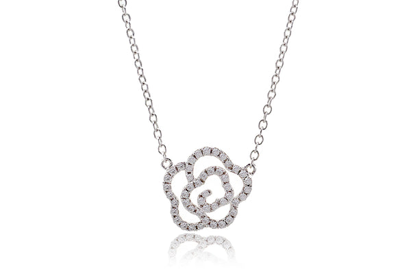 The Carnation Diamond Necklace