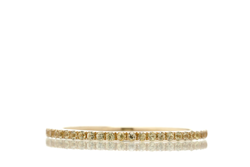 The Lita Yellow Sapphire Eternity Band (1mm)