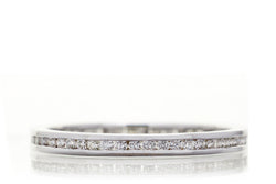 The Channel Set Eternity Diamond Band (2mm)