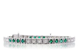 The Marjorie Emerald Bracelet (2.68 ct. tw.)