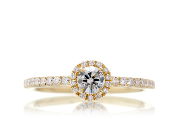 The Vinnie Round Diamond Ring