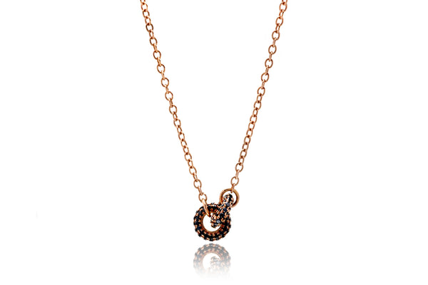 The Forever Linked Diamond Circle Necklace