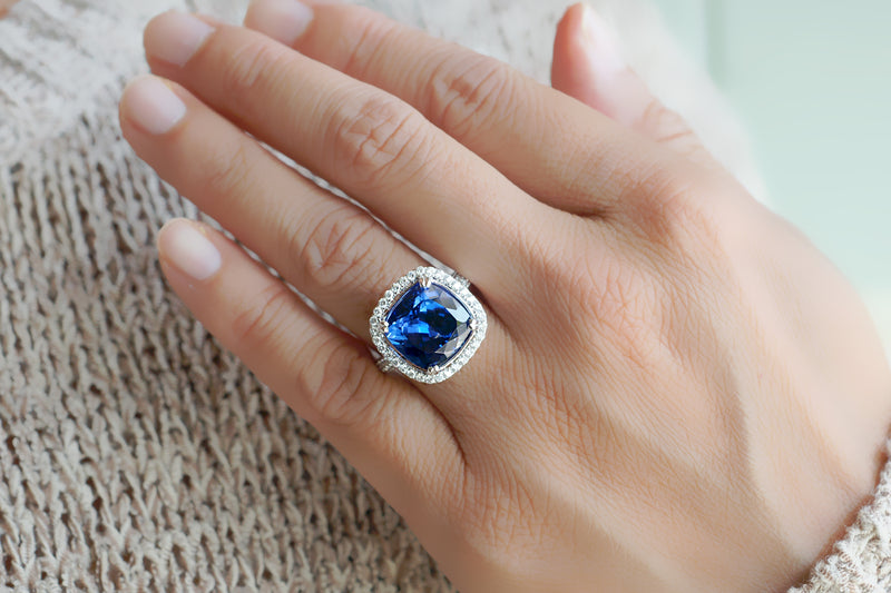The Tamika Cushion Tanzanite (8.41 ct. tw.)