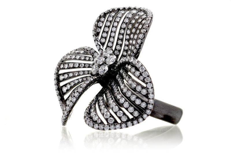 The Liliane Diamond Flower Ring (4.07 ct. tw.)