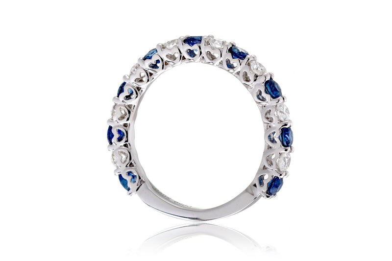 The Celina Sapphire & Diamond Band