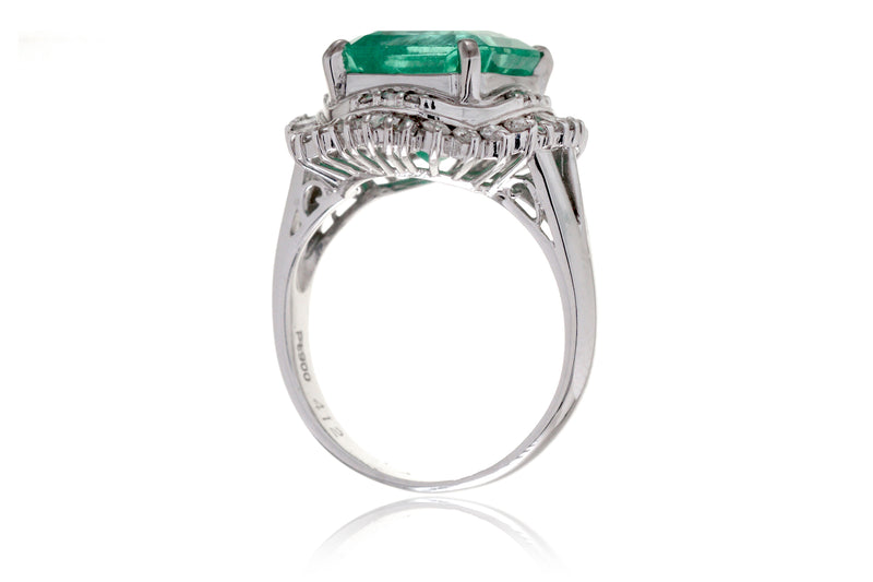The Sonia Green Emerald Ring (4.66 ct. tw.)