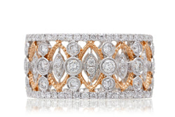 The Esmeralda Diamond Ring