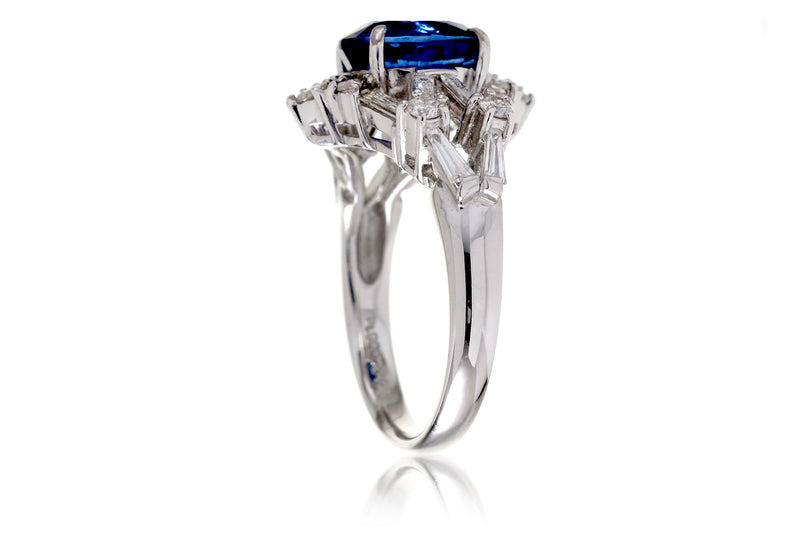 The Elise Oval Sapphire Ring