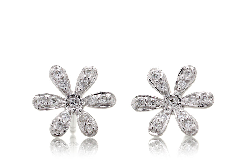 The Daisy Diamond Studs (0.11ct. tw.)