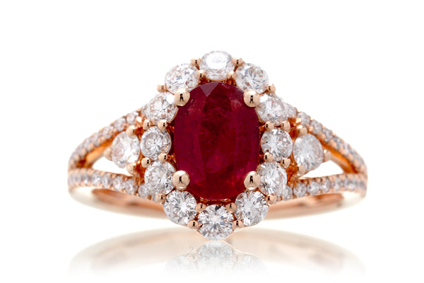 The Chelsea Oval Ruby