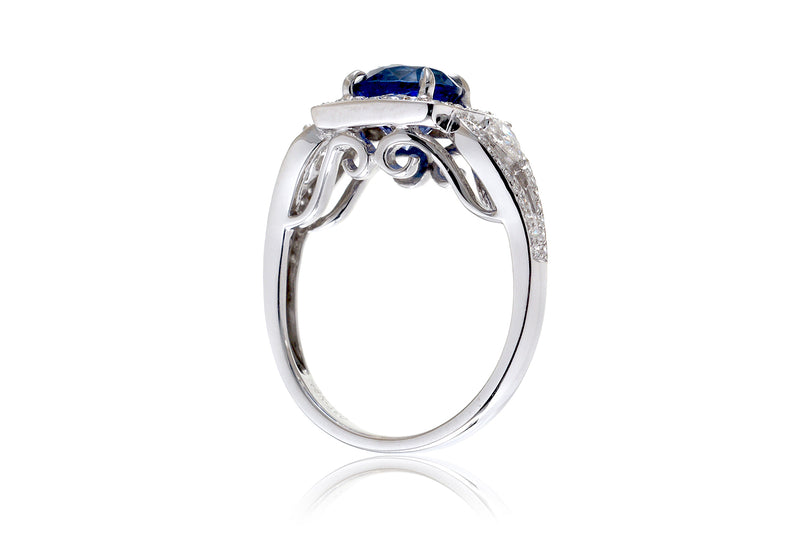 The Valerie Round Tanzanite (7.5mm)