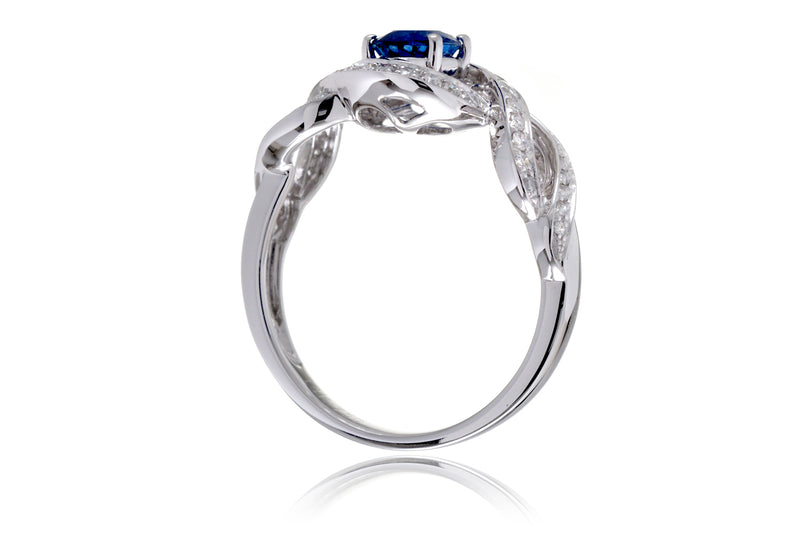 The Marla Oval Sapphire Ring (1.16 ct. tw.)