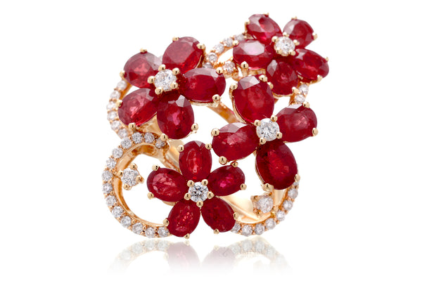 The Rosalie Ruby Ring (7.75 ct. tw.)