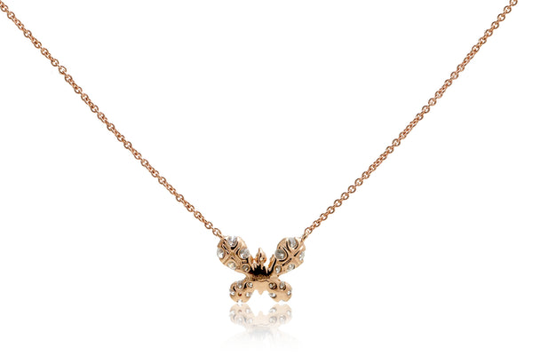 The Cluster Diamond Butterfly Pendant