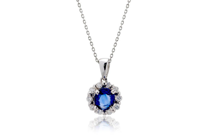The Maddie Sapphire Pendant