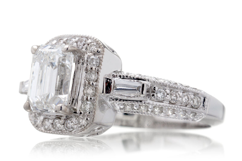 The Janell Emerald Cut Diamond (1.02 ct G/VS2)