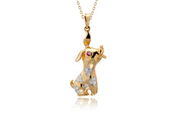 The Sitting Dog Pendant