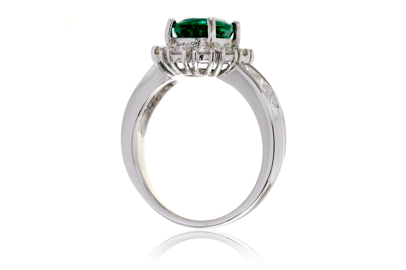 The Eleanor Oval Emerald Ring (2.33ct. tw.)