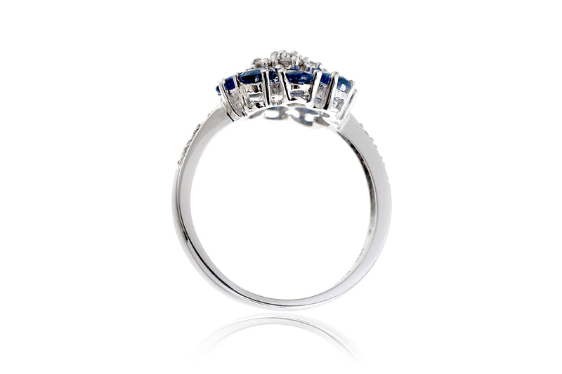 The Maggie Sapphire Diamond Ring