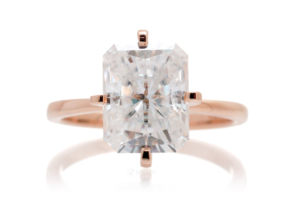 The Adeline Radiant Cut Moissanite