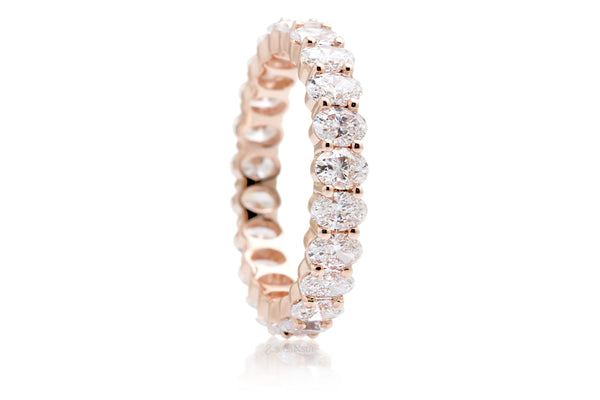 The Amelia Oval Diamond Eternity