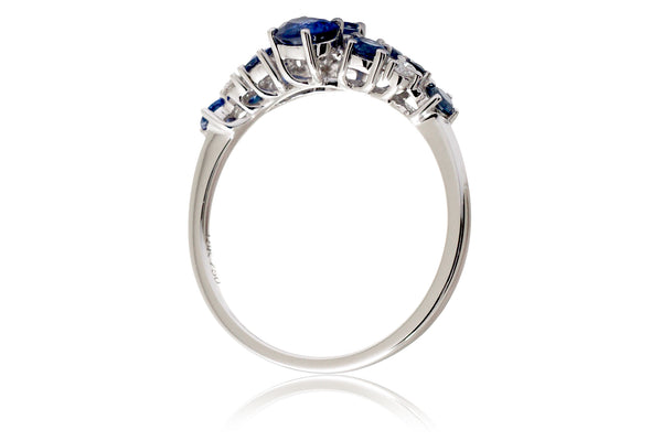 The Andromeda Blue Sapphire Ring