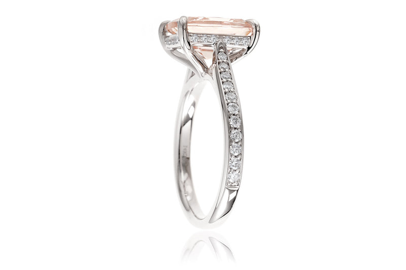 The Emily Oval Morganite