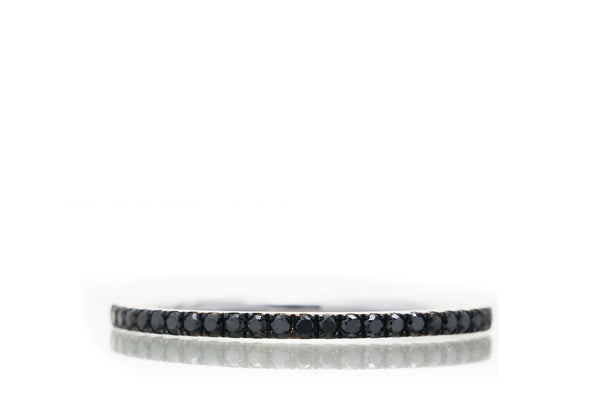 The Lita Black Diamond Band (1.2mm)