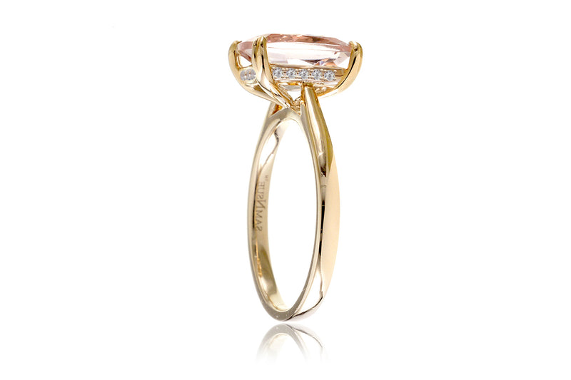 The Emily Cushion Morganite