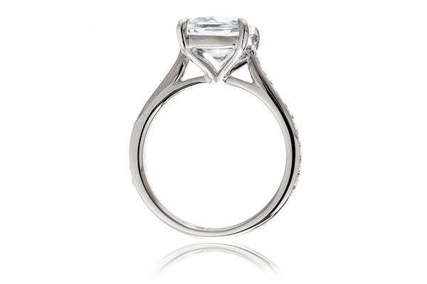 The Emily Cushion Moissanite