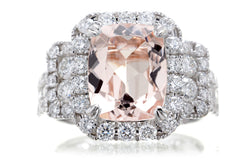 The Sydney Cushion Morganite
