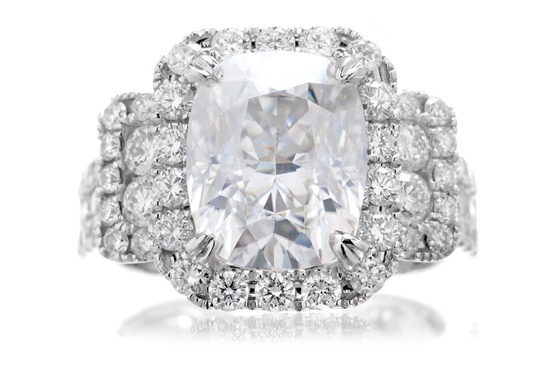 The Sydney Cushion Moissanite