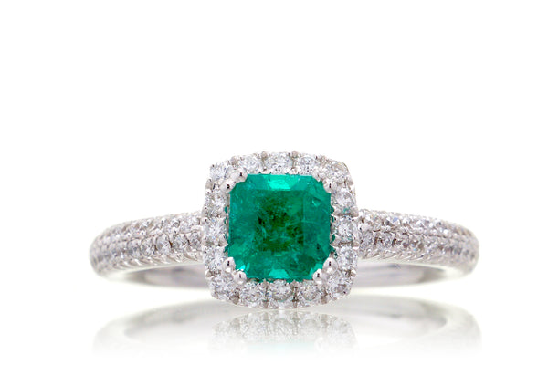 The Lucille Square Emerald
