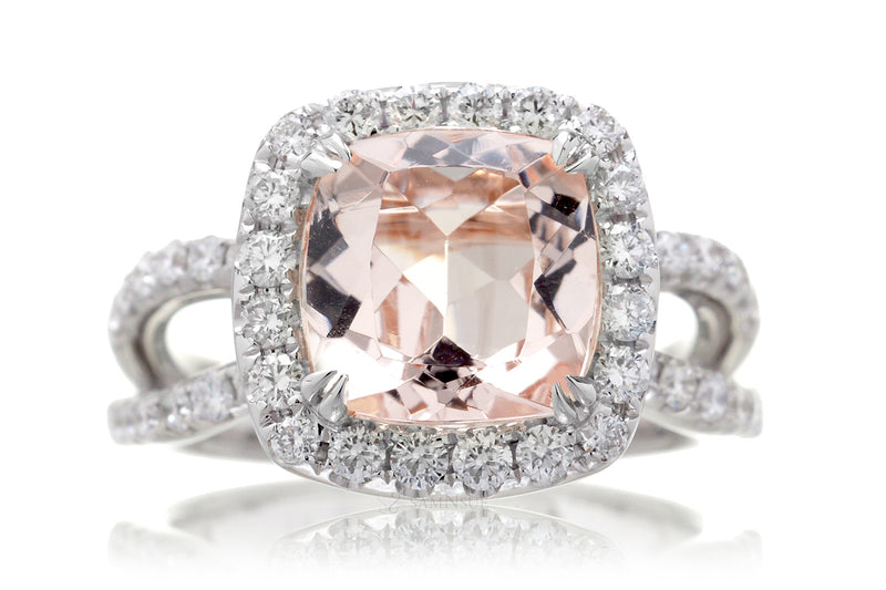 The Bonnie Cushion Morganite