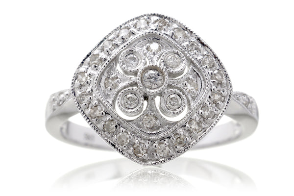 The Kykoto Cushion Diamond Ring