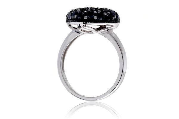 The Zane Cushion Black Diamond Ring (2.12 ct. tw.)