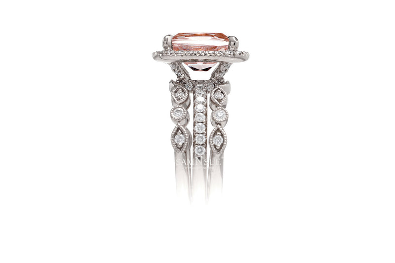 The Ivy Customized Diamond Band